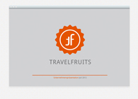 Bild/Wortmarke TRAVELFRUITS
